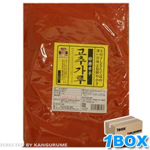 「徳山」甘口唐辛子「調味用」1kg×15個【1BOX】■韓国食品■0504-1