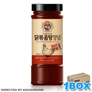 鶏炒め用タレ「タッポックンタン用タレ」490g【1BOX】12本入■韓国食品■0576-1