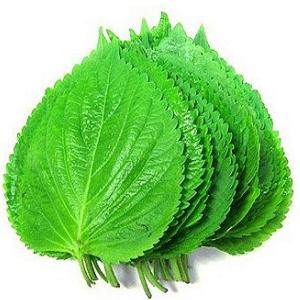 ◆冷蔵◆えごまの葉 約20枚■韓国食品■ 0605