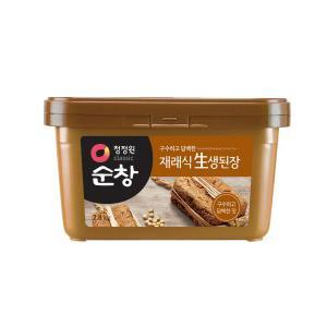 「スンチャン」味噌2.8kg×4個【1BOX】■韓国食品■ 0730-1