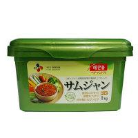 「ヘチャンドル」四季サムジャン「サンチュ味噌」1kg×12個【1BOX】■韓国食品■SmaStation テレ朝 0733-1