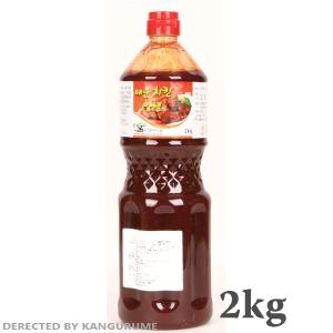 【取り寄せ】ヤンニョム チキンソース(辛口) 2kg■韓国食品■0760