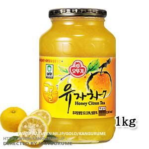 「サンファ」はちみつ柚子茶1kgx2本■韓国食品■ 0801-2