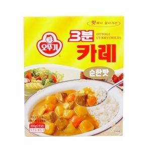 「オットギ」3分カレー■韓国食品■ 1026