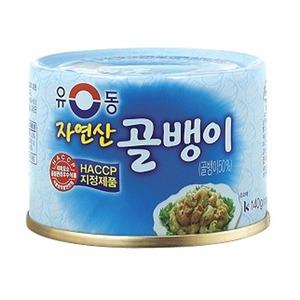 つぶ貝缶詰「小」■韓国食品■ 1409
