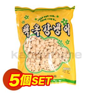 ガンネンイ「コーンスナック」【5個SET】■韓国食品■ 1836-1