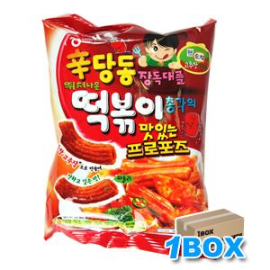 シンダンドントッポギお菓子「辛口」 【1BOX】15個入り■韓国食品■1857-2