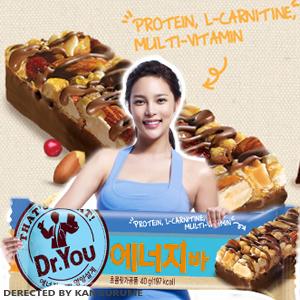 「Dr.You」エネルギーバー■韓国食品■1886