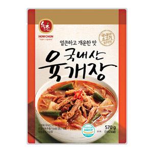 「ハウチョン」ユッケジャンスープ570g■韓国食品■ 1009