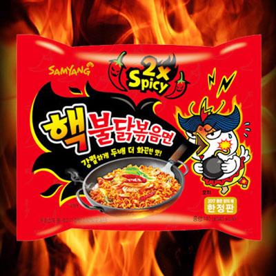 ヘック激辛ブルダック炒め麺■韓国食品■2486
