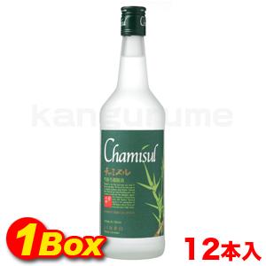 【送料無料】チャミスル焼酎700ml×12本【1BOX】■韓国食品■ 0103-1