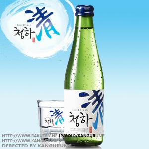 清河チョンハ焼酎300ml■韓国食品■ 0108