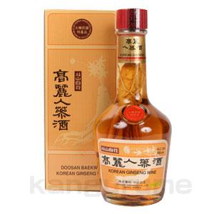 高麗人参酒700ml■韓国食品■ 0120