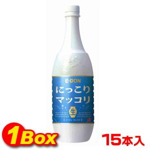 【送料無料】◆冷蔵◆イドンマッコリ「生」1L×15本【1BOX】■韓国食品■0130-1