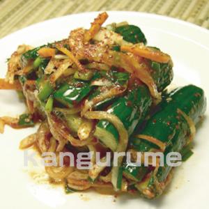 ◆冷蔵◆自家製キュウリキムチ500g■韓国食品■ 0223