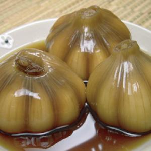 ◆冷蔵◆自家製ニンニク醤油漬け500g■韓国食品■ 0228