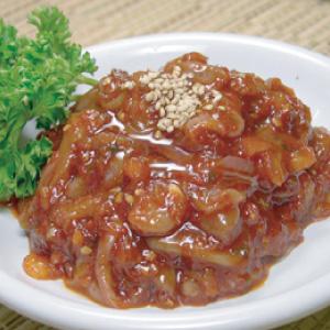 ◆冷蔵◆自家製イカ塩辛500g■韓国食品■0243
