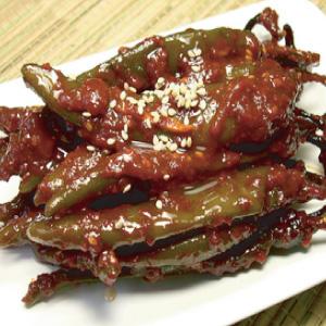 ◆冷蔵◆自家製ヤンニョム和え唐辛子500g■韓国食品■ 0264