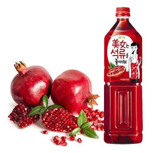 「LOTTE」ザクロジュース「PT」1.5L ■韓国食品