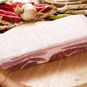 ▲冷凍▼【量り売り】豚バラブロック1kg■韓国食品■ 0441