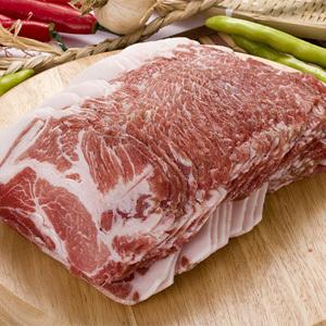 ▲冷凍▼豚肩ローススライス2-3mm1kg■韓国食品■ 0442