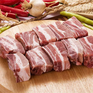 ▲冷凍▼豚スペアリブカット「チム用豚カルビ」1kg■韓国食品■ 0446