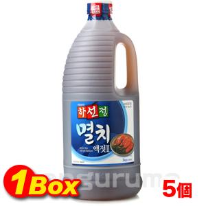 「ハソンジョン」いわし鰯エキス2.5kg×6個【1BOX】■韓国食品■0521-1