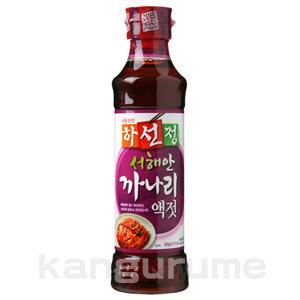 「ハソンジョン」カナリ「いかなご玉筋魚」エキス400g■韓国食品■ 0522