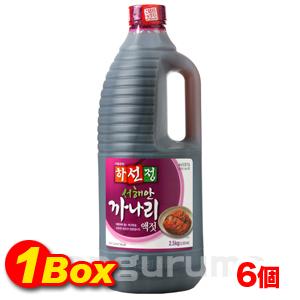「ハソンジョン」カナリ「いかなご玉筋魚」エキス2.5kg×6個【1BOX】■韓国食品■ 0524-1