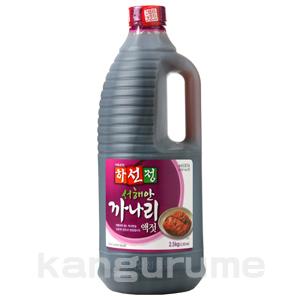 「ハソンジョン」カナリ「いかなご玉筋魚」エキス2.5kg■韓国食品■ 0524