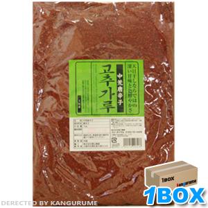「徳山」甘口唐辛子「キムチ用」1kg×15個【1BOX】■韓国食品■ 0590-1