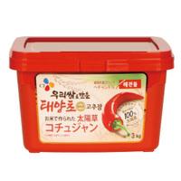 「ヘチャンドル」コチュジャン3kg×4個【1BOX】■韓国食品■日テレ ZIP  0706-1