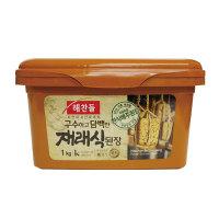 「ヘチャンドル」在来式味噌1kg×12個【1BOX】■韓国食品■ 0722-1