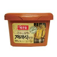 「ヘチャンドル」在来式味噌500g■韓国食品■ 0723