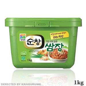 「スンチャン」サムジャン「サンチュ味噌」1kg■韓国食品■SmaStation テレ朝 0735