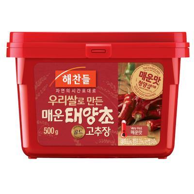 「ヘチャンドル」激辛コチュジャン500g■韓国食品■日テレ ZIP  0752