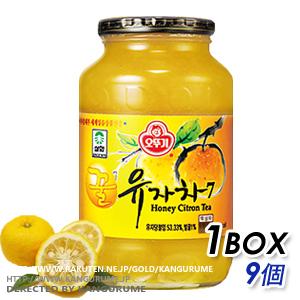 「サンファ」はちみつ柚子茶1kg【9個BOX】■韓国食品■ 0801-1