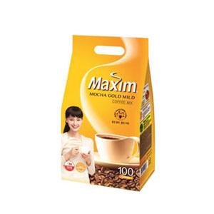 マキシムコーヒーミックス「モカゴールド」100本■韓国食品■ 0819