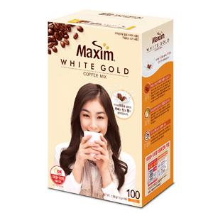 マキシムコーヒーミックス「ホワイト」100本■韓国食品■ 0827