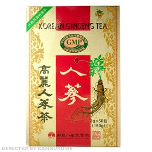 高麗人参茶「紙箱」50包入り■韓国食品■ 0835