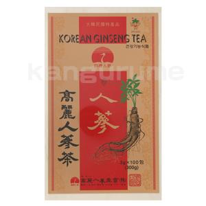 高麗人参茶「木箱」100包入り■韓国食品■ 0837