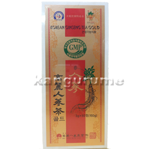 「のし対応」高麗人参茶「木箱」50袋入■韓国食品■0862-s