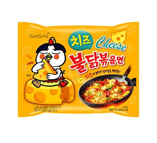 チーズ ブルダック炒め麺 ■韓国食品■インスタントラーメン2489