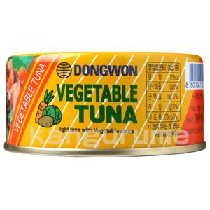 野菜ツナ「チャムチ」缶詰 150g■韓国食品■ 1407