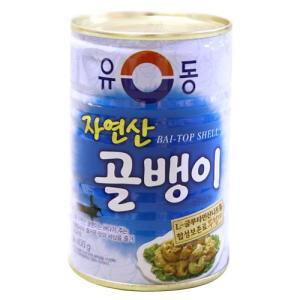 つぶ貝缶詰「大」■韓国食品■ 1408