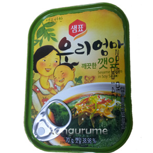 エゴマの葉キムチ缶詰70g■韓国食品■ 1412