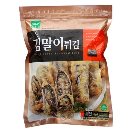 ▲冷凍▼【冷凍】春雨海苔巻き揚げ510g ■韓国食品■ 1593