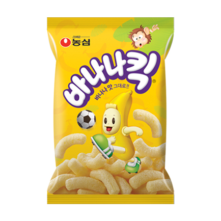バナナキック お菓子【5個SET】■韓国食品■1813-1