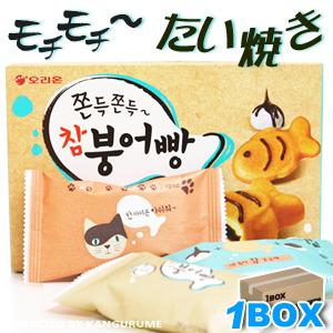 もちもちたい焼きチャムブンオパン 「6個入」【1BOX】9個入り■ 韓国食品■1830