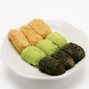◆冷蔵◆【取り寄せ】「餅」3色インジョルミ■韓国食品■ 1917